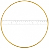 "Metal Rings 9""/22.8cm Brass"